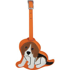 Beagle Dog Luggage Tag Briefcase Gym Backpack Travel ID