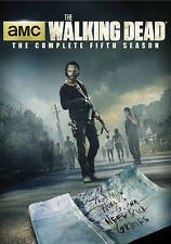 The Walking Dead: The Complete Fifth Season (DVD, 2015, 5-Disc Set)