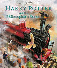 Harry Potter And The Philosopher's Stone - Illustrated - Rowling Hardback Book 1