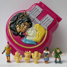 Mini Polly Pocket Disney Hunchback of Notre Dame Playcase 100% Komplett 1996