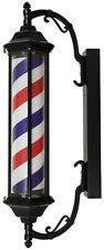 "Yanaki Barber Pole YA2140 28"" Vintage Look Indoor - Outdoor use"