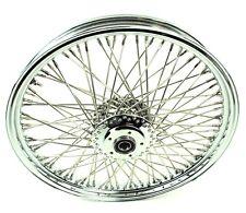 21 2.15 Chrome Rim 80 Stainless Spoke Front Wheel Harley Sportster XL & Dyna 3/4