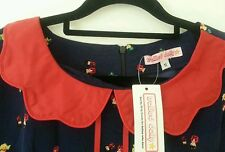 Trollied Dolly ~ Navy Doll Dress BNWT