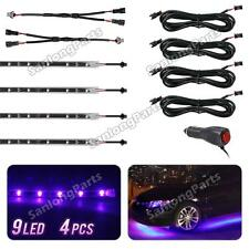Purple LED Interior Lights Glow Lighting Strips Flexible All Accessories Include