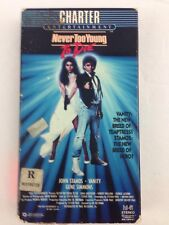 Never Too Young To Die 80's Action VHS 1986 John Stamos Vanity Gene Simmons