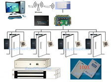 Best HID access control system Kits with WiFi wireless CONN Management Software