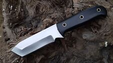 Excellent Hand Made Tanto Blade / Tactical Knife / High Carbon Steel Blade,