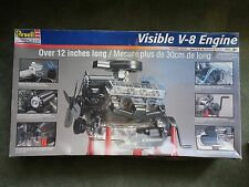 revell visible v-8 engine kit 8883 (1998)
