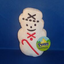 Peeps - Snowman - Christmas Bean Bag Plush - NEW