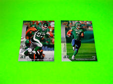 SASKATCHEWAN ROUGHRIDERS WESTON DRESSLER RR 2 JOHN CHICK RR 1 CFL FOOTBALL CARDS