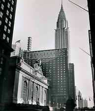 NEW YORK c. 1950 - Grand Central Station Chrysler Bldg - USA 18