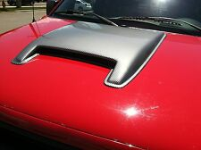1992 - 1997 Buick Skylark Gran Sport Large Smooth Single Carbon Fiber Hood Scoop
