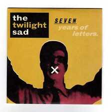THE TWILIGHT SAD Rare Cd Maxi SEVEN YEARS OF LETTERS 3 tracks 2009r