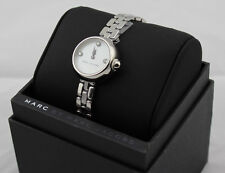 NEW AUTHENTIC MARC BY MARC JACOBS COURTNEY SILVER WOMEN'S LADIES MJ3459 WATCH