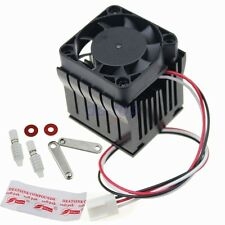 DIY Northbridge Cooler Heatsink Southbridge Radiator for PC Computer W/Fan