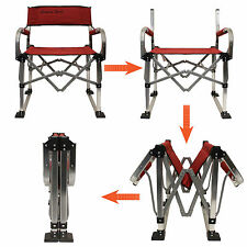 Light Weight Aluminum Frame Camping Outdoor Folding Director Chair
