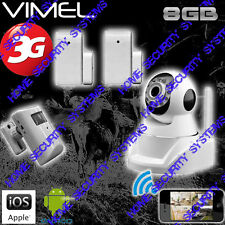 3G Camera Home Security GSM SurveillancwWireless Alarm System Farm Remote View