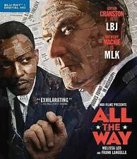 All the Way (Blu-ray) Bryan Cranston/Anthony Mackie BRAND NEW SEALED