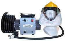 Supplied fresh Air Respirator breathing bumpcap helmet