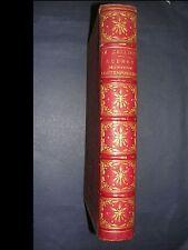 Scènes de l'histoire belle reliure demi chagrin orné à nerf belles gravures 1860