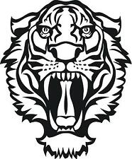 Roaring Tiger Head  Vinyl Wall decal