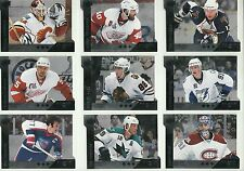 2009-10 Upper Deck Black Diamond Horizontal 3 Diamonds Full Set (9) Over 100$ BV
