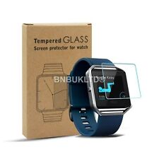 3 X 100% Tempered Glass Screen Protector for Fitbit Blaze Fitness Watch