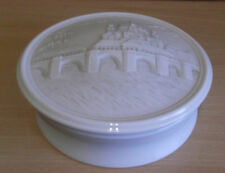 HOCHST BISQUE FINISH PORCELAIN TRINKET BOX