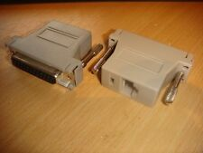 ILDA to UTP adapter for lasershows (Use network cable instead of  ILDA cable)