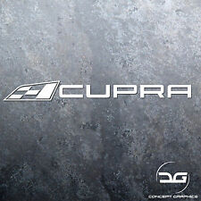 1x Seat Cupra Logo Car Vinyl Decal Sticker | DUB | German | Ibiza | Leon | VAG