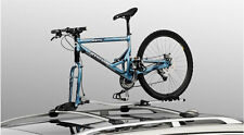 2 x Thule 561 OutRide Roof Bar Mounted Bike Carrier Fork Mounted Volvo Branded