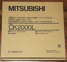 Mitsubishi CK2000L Papier und Farbrolle für CP-2000 und CP-2500E Serie