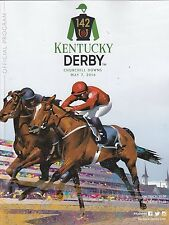 FREE SHIPPING - 2016 Kentucky Derby 142 Program - NYQUIST - CHURCHILL DOWNS