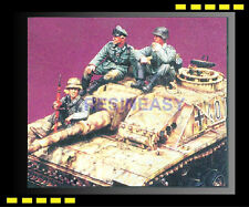 Resin model kit 1/35 warriors 35360  WWll German Tank Riders for STUG No.1