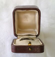 VICTORIAN /ANTIQUE RING BOX CASE C 1930