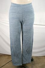 Style & Co Light Blue French Terry Cloth Lounge Cotton Sport Pants 1X 14W 16W