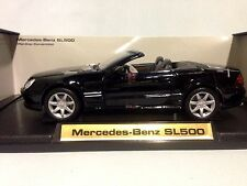 2003 Mercedes Benz SL500,Collectibles 1:18 Scale, Diecast MotorMax Toys, Black