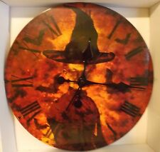 Witch Clock Wicked Halloween Home Deco Scary (Batteries not included)