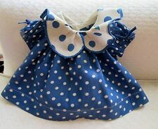 """Vintage 1934 Authentic Ideal 16"""" Shirley Temple """"Baby Take a Bow"""" Doll Dress"""