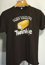Twinkie Tee Shirt Men's Small Short Sleeve. Sale Priced