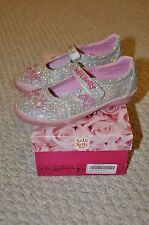 Lelli Kelly Mary Jane Shoes Size 31 EU/ 13 US Toddler Girls- Glitter Jewel Shoes