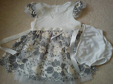AMAZING NEW BONNIE JEAN BABY GIRL DRESS 12 MTHS 9/12 MTHS