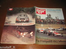 AUTOSPRINT 1972/23=RALLY FIAT 124 SPIDER PAGANELLI RUSSO=LANCIA HF BARBASIO=