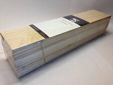 "BALSA WOOD Bundle GIGANTE ""OFFERTA SPECIALE"" 450 x100 x100mm taglie miste registrato POST"