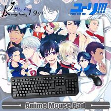 Japan Anime Yuri On Ice Thicken Gaming Playmat Extra Large Mousepad Mat 68x38cm