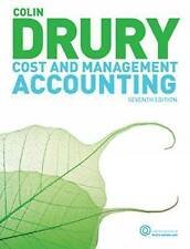 Cost and Management Accounting: An Introduction by Colin Drury 9781408032138