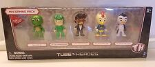 NIP 2015 Tube Heroes Mini Gaming Pack 5 Character YouTube Toy Action Figures NEW