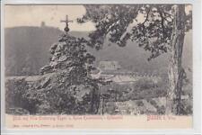 AK Baden b. Wien, Villa Erzherzog Eugen, Kreuz, , 1904