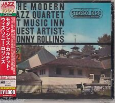 Modern Jazz Quartet / At Music Inn Guest Artist:Sonny Rollins (Japan-Edt.,Neu!)