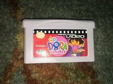 GAMEBOY ADVANCE VIDEO ONLY DORA THE EXPLORER VOLUME 1